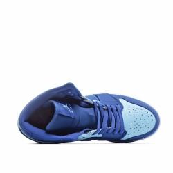 Air Jordan 1 Retro Mid Team Royal Ice Blue 554724-400 AJ1 Jordan Sneakers
