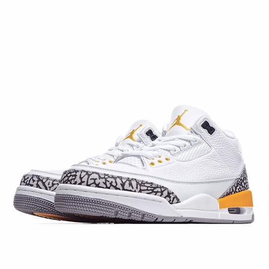 Air Jordan 3 Retro Laser Orange CK9246-108 AJ3 Jordan Sneakers