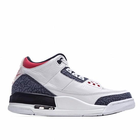 Air Jordan 3 Retro SE Fire Red Denim CZ6431-100 AJ3 Jordan Sneakers