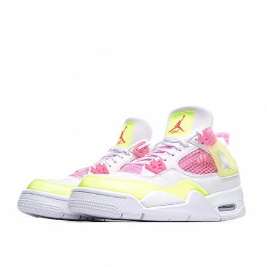 Air Jordan 4 Retro White Lemon Pink CV7808-100 AJ4 Jordan Sneakers