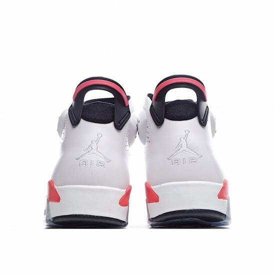 Air Jordan 6 Retro Infrared White 384664-123 AJ6 Jordan Sneakers