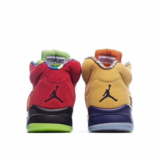 Nike Air Jordan 5 Retro What The CZ5725-700 AJ5 Jordan Sneakers