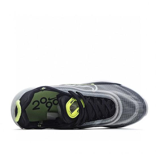 Nike Air Max 2090 Black Green Grey CT1803-001 Sneakers