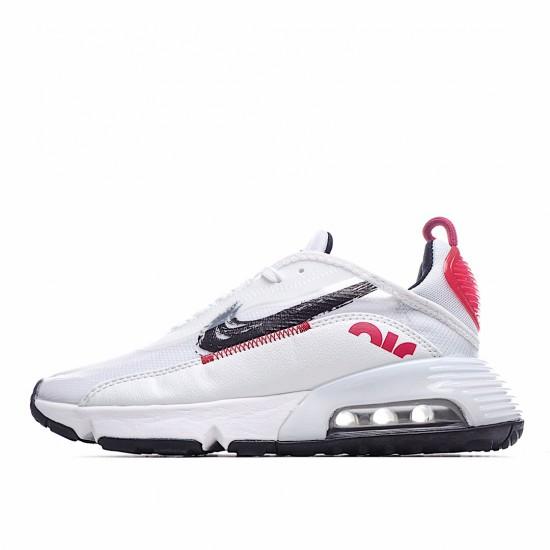 Nike Air Max 2090 Red White Black DA4304-100 Sneakers