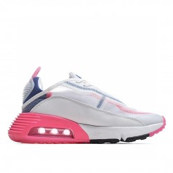 Nike Air Max 2090 White Pink Blue CZ3867-101 Sneakers