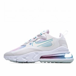 Nike Air Max 270 React Summit White Bleached Aqua CK6929-100 Sneakers