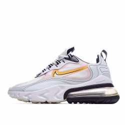 Nike Air Max 270 React Black Silver Yellow CK4126-001 Sneakers