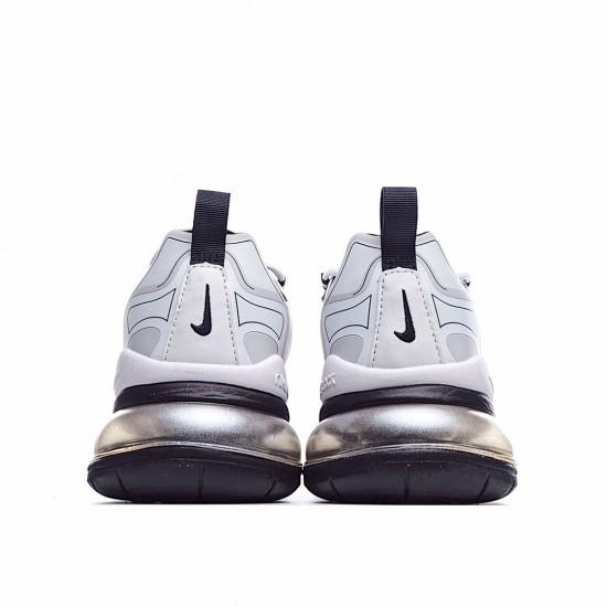Nike Air Max 270 React Black Silver Yellow CK4126-001 Sneakers