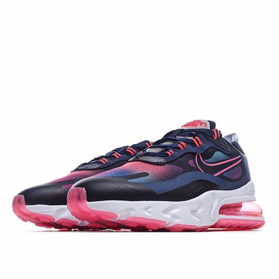 Nike Air Max 270 React Midnight Navy Hyper Pink CK6929-400 Sneakers