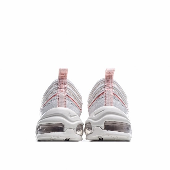 Nike Air Max 97 Summit White Bleached Coral 921733-104 Sneakers
