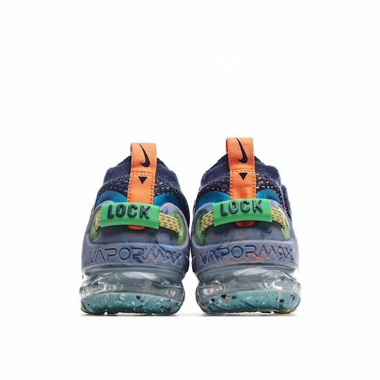 Nike Air VaporMax 2020 Flyknit Deep Royal Blue Multi-Color CJ6741-400 Sneakers