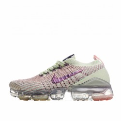 Nike Air VaporMax Flyknit 3 Barely Volt Pink Tint AJ6900-700 Sneakers
