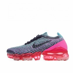 Nike Air VaporMax Flyknit 3 Black Grey Red AJ6910-005 Sneakers