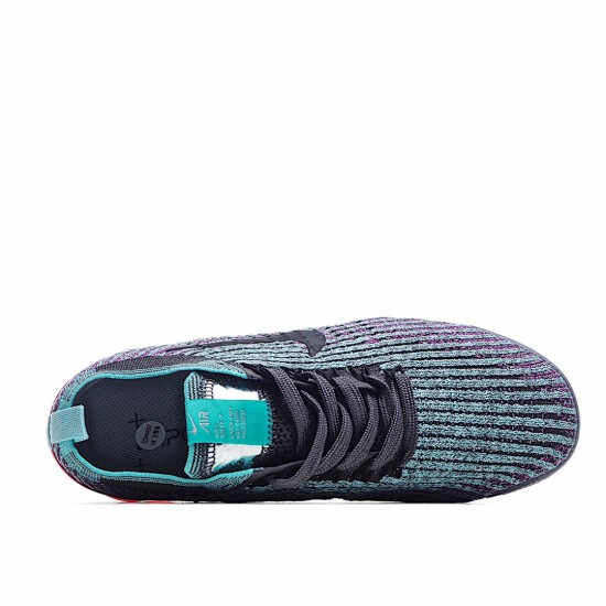 Nike Air VaporMax Flyknit 3 Black Grey Red AJ6910-005 Sneakers