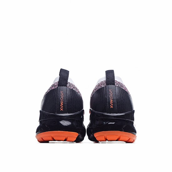 Nike Air VaporMax Flyknit 3 Bright Mango Pure Platinum AJ6900-800 Sneakers