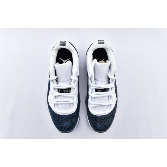 AJ11 Low Nike Air Jordan 11 Blue White Unisex Basketbll Shoes CD6848-102