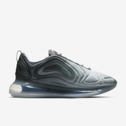 Nike Air Max 720 Black Grey Unisex Running Shoes AO2924-002