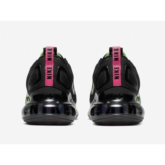 Nike Air Max 720 Black Womens Mens Running Shoes 36-46 CQ4614 001