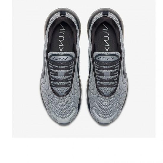 Nike Air Max 720 Gray Black Unisex Running Shoes 36-46 AO2924 012