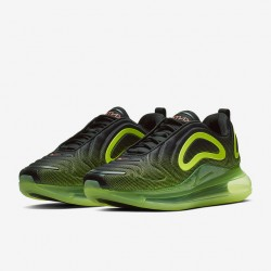 Nike Air Max 720 Green Yellow Mens Running Shoes AO2924-008