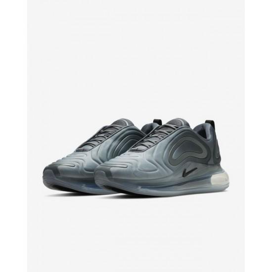 Nike Air Max 720 Grey Black Mens Running Shoes AO2924 002