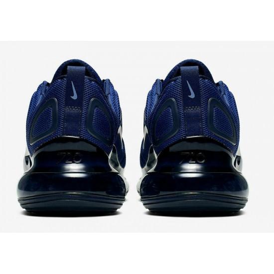 Nike Air Max 720 Mens Deep Blue Running Shoes AO2924 403