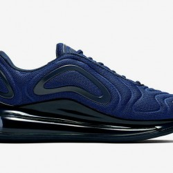 Nike Air Max 720 Mens Deep Blue Running Shoes AO2924 403