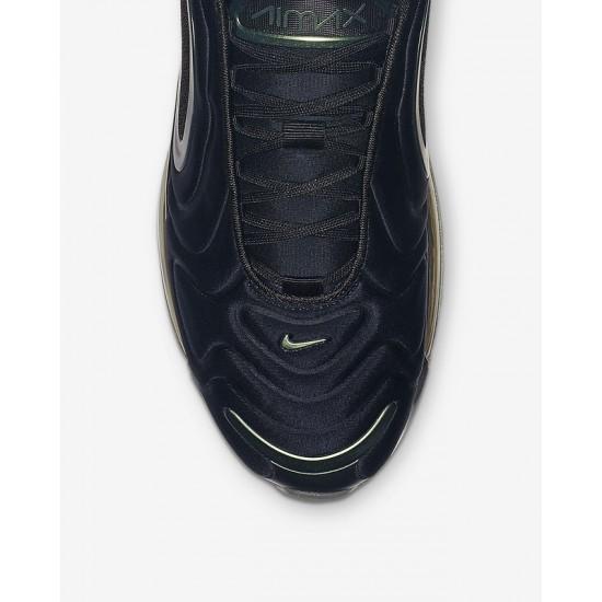 Nike Air Max 720 Unisex Black Casual Shoes AO2924-010 On Feet