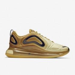 Nike Air Max 720 Unisex Khaki Running Shoes 36-45 AO2924-700 On Foot