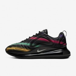 Nike Air Max 720 Black Unisex Running Shoes 36-46 AO2924 023