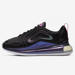 Nike Air Max 720 Black Womens Running Shoes CD2047-001