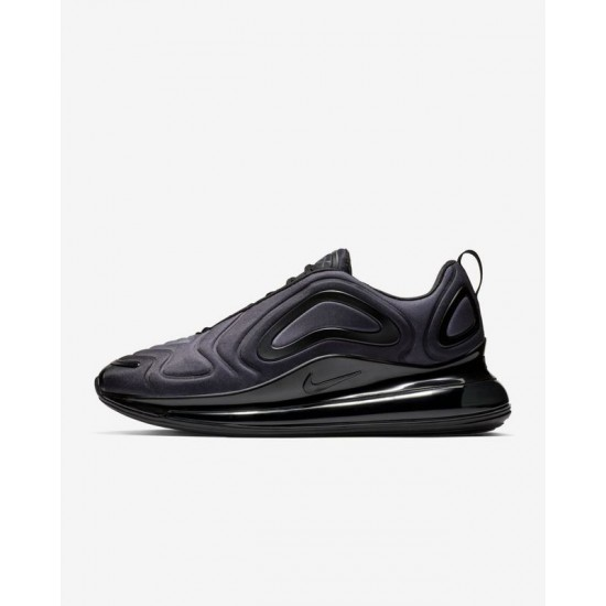 Nike Air Max 720 Unisex Running Shoes AO2924-004 Black Sneakers