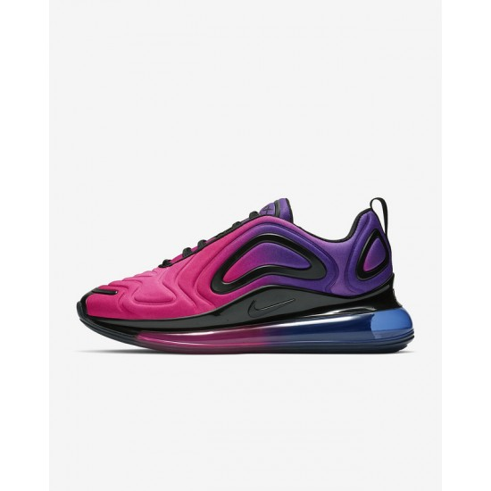 Nike Air Max 720 Womens Pink Blue Runing Shoes AR9293-500
