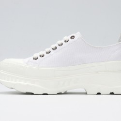 ALL White Alexander McQueen Womens Sneakers