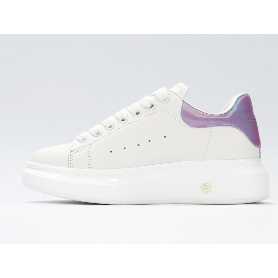 White Alexander McQueen Womens Sneakers Casual Shoes