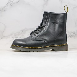 2020 Fashion Dr.martens Soft Leather Eight Holes High Top K20 Black Broen Ankle Boots