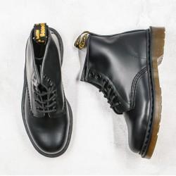 2020 Fashion Dr.martens 1010 6 Holes Mid Z15 Black Ankle Boots