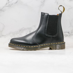 2020 Fashion Dr.martens 1460 Chelsea High Top Series Z15 Black Ankle Boots