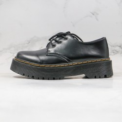 2020 Fashion Dr.martens 1461 Platform Martin Boots G25 Black Ankle Boots