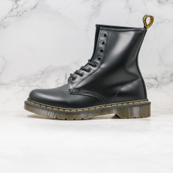 2020 Fashion Dr.martens Crusty High Top 1460 Z15 Black Ankle Boots
