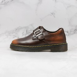 2020 Fashion Dr.martens Martin Low Top K19-23 Brown Ankle Boots