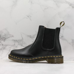 2020 Fashion Dr.martens Martin Boots Chelsea Boots J11-5 Black Ankle Boots