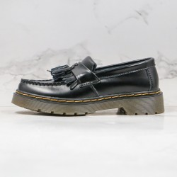 2020 Fashion Dr.martens Tassel Shoes Martin Boots G25 Black Ankle Boots