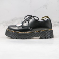 2020 Fashion Dr.martens Hello Kitty G25 Black Ankle Boots