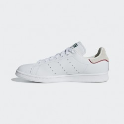 2020 Adidas Originals Stan Smith White Red Casual Shoes D96975 Unisex Sneakers