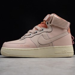 2020 Nike Air Force 1 07 High Pink Running Shoes AJ7311 200 Womens AF1 Sneakers