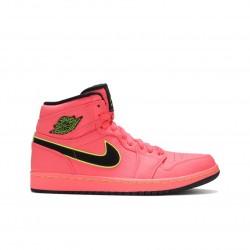 2020 Nike Air Jordan 1 High Premium Hot Punch Basketball Shoes AQ9131 600 AJ1 Sneakers