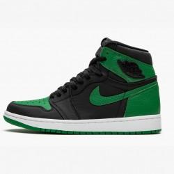 2020 Nike Air Jordan 1 Retro High Pine Green 2.0 Basketball Shoes 555088 030 Unisex AJ1 Sneakers