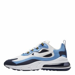 2020 Nike React Air Max 270 Blue White Black Sneakers CT1264 104 Mens Running Shoes
