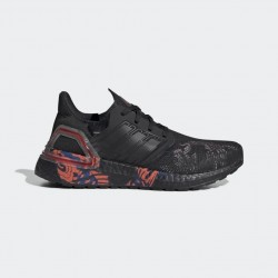 2020 Adidas UltraBoost 2020 FW5677 Black Red Running Shoes Unisex Sneakers